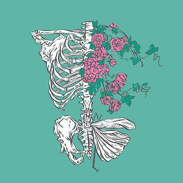 Floral skeleton by Chuvardina