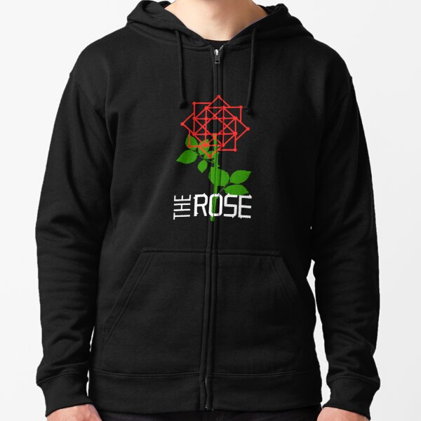 THE ROSE - LOGO Zipped Hoodie
