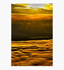 Golden Sunrise Photographic Print