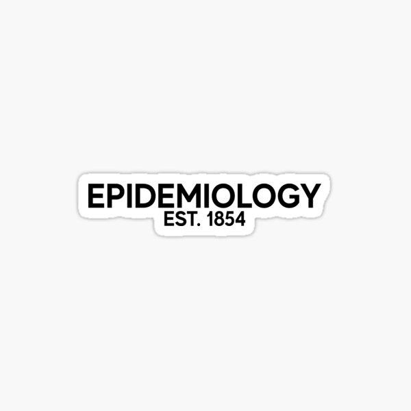 Epidemiology Public Health Art Medicine Medical Doctor Sticker