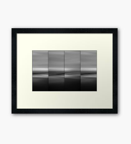 Moontide Framed Print