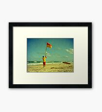 Declaration of Summer Framed Print