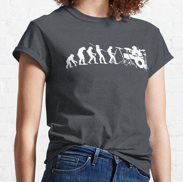 Drummer Evolution Classic T-Shirt