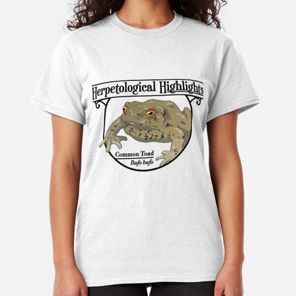 Bufo bufo – Common Toad Classic T-Shirt