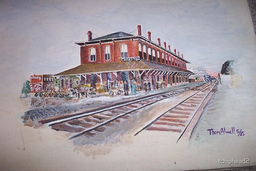 Train Station - Chariton, Iowa by tchiphead2