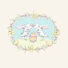 kissing bunnies by Jo Cave  (cavecorner)