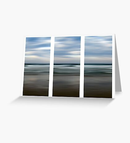 Rainbow Beach at Dusk Greeting Card