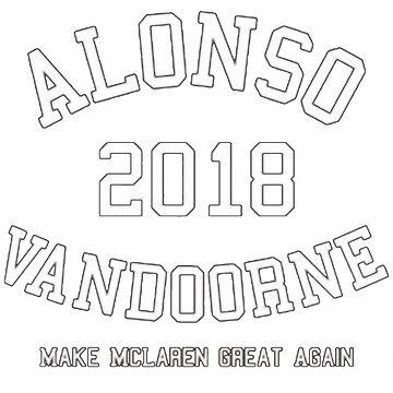 Alonso Vandoorne 2018 (white text) by alissarmanc