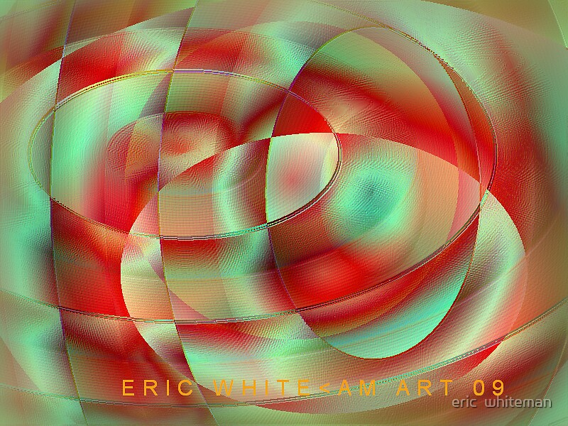 (FOUT ) ERIC WHITEMAN  ART   by eric  whiteman