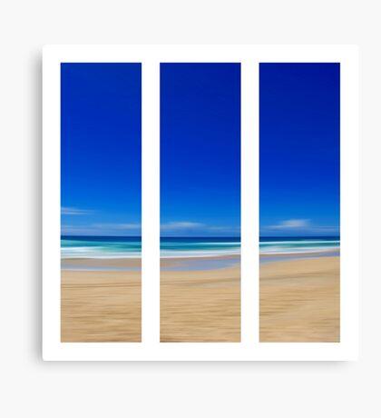 Summertime Blues - Triptych Canvas Print