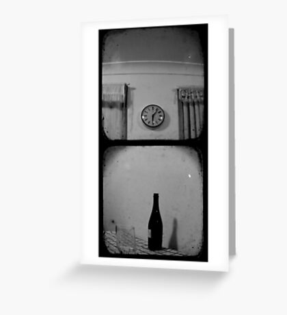 Happy Hour - TTV Diptych Greeting Card