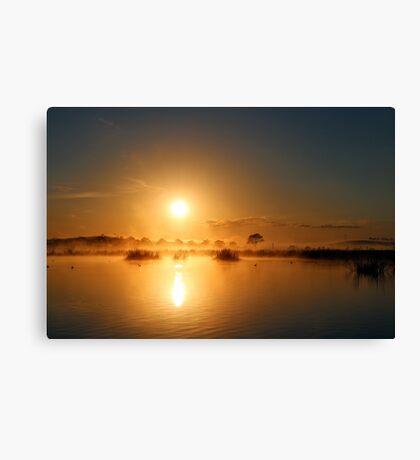 Comes The Sun Canvas Print