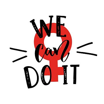 We can do it. Red version. by annakutukova