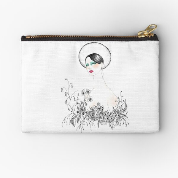 Long Neck  Zipper Pouch