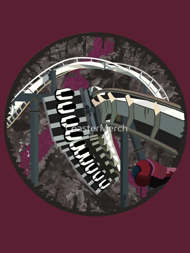 Arch Nemesis Blood Coaster Design by CoasterMerch