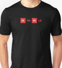 Cinefile - chemistry periodic table Unisex T-Shirt