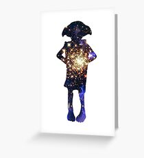 Space Dobby Greeting Card