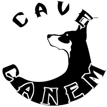 Doberman Pinscher - Cave Canem by crcrudy
