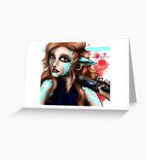 Claves Greeting Card