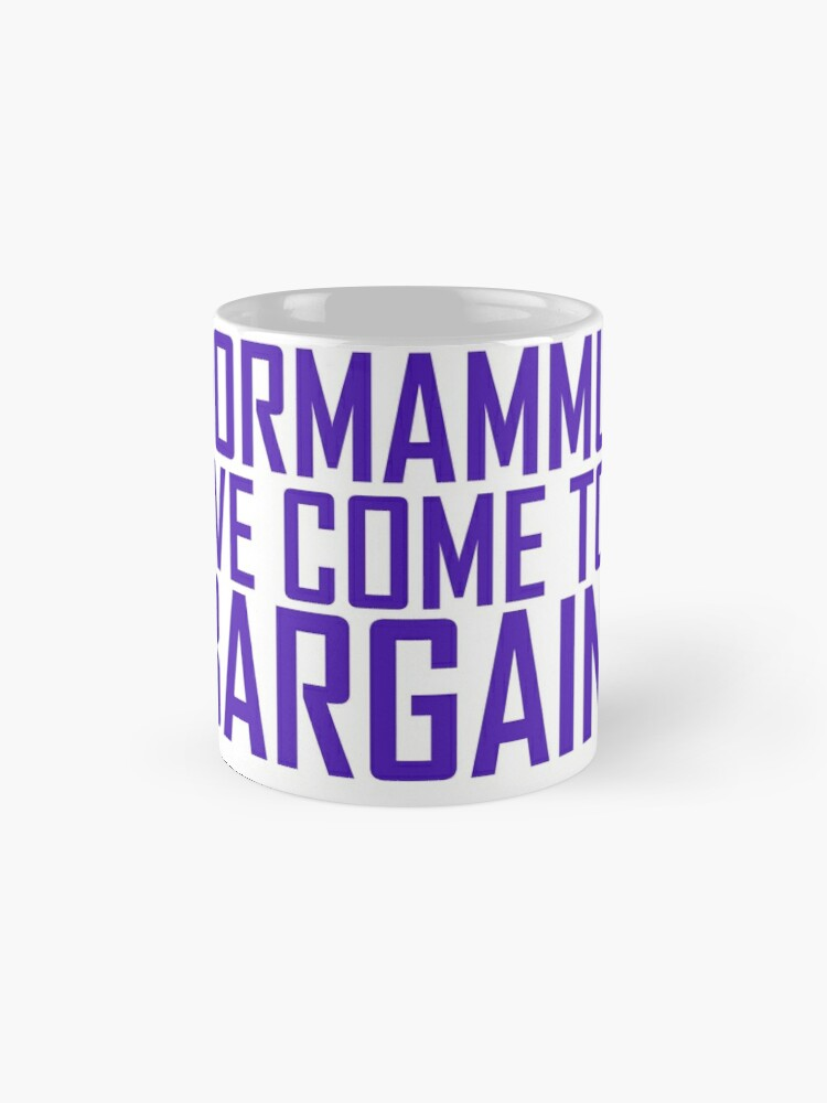 Alternative Ansicht von Dormammu, ich bin zum Schnäppchen gekommen Tasse
