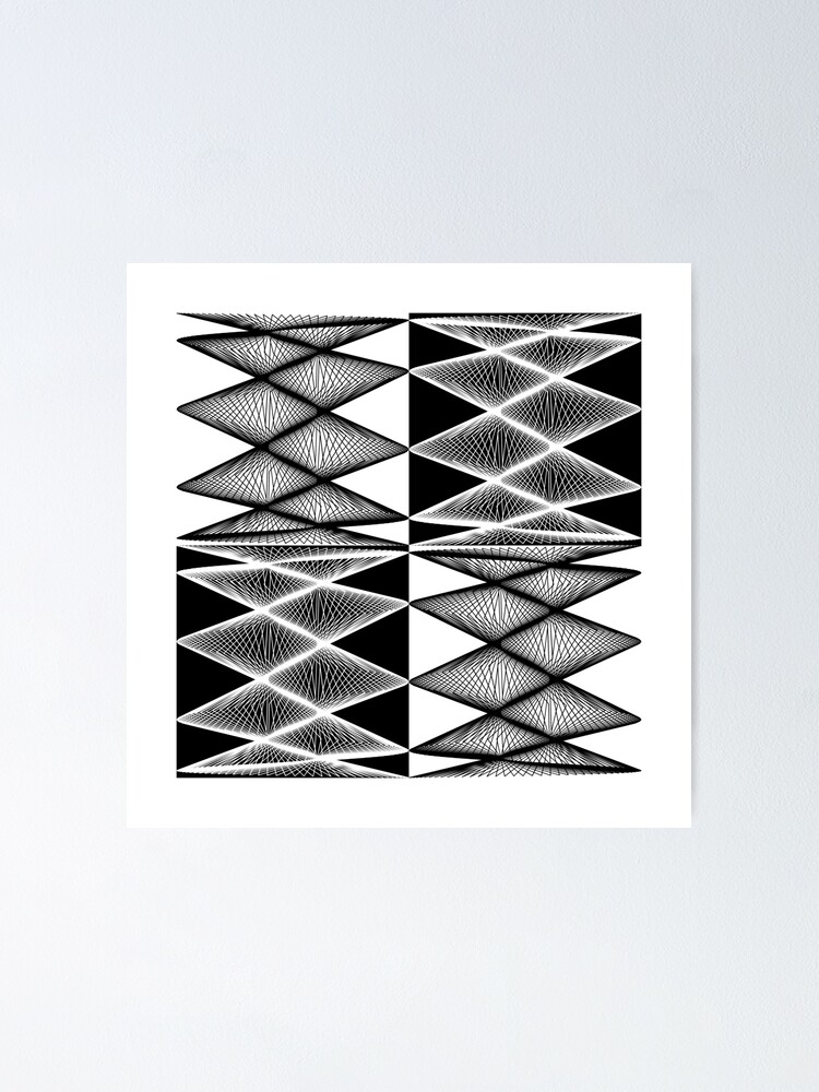 Alternate view of Lissajous XXI Poster