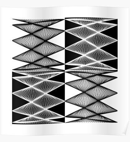 Lissajous XXI Poster
