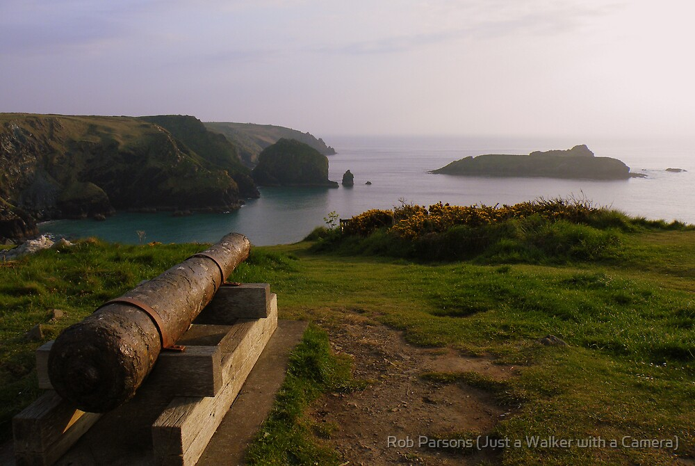 Cornwall: The Canon at Mullion Cove by Rob Parsons (Just a Walker with a Camera)