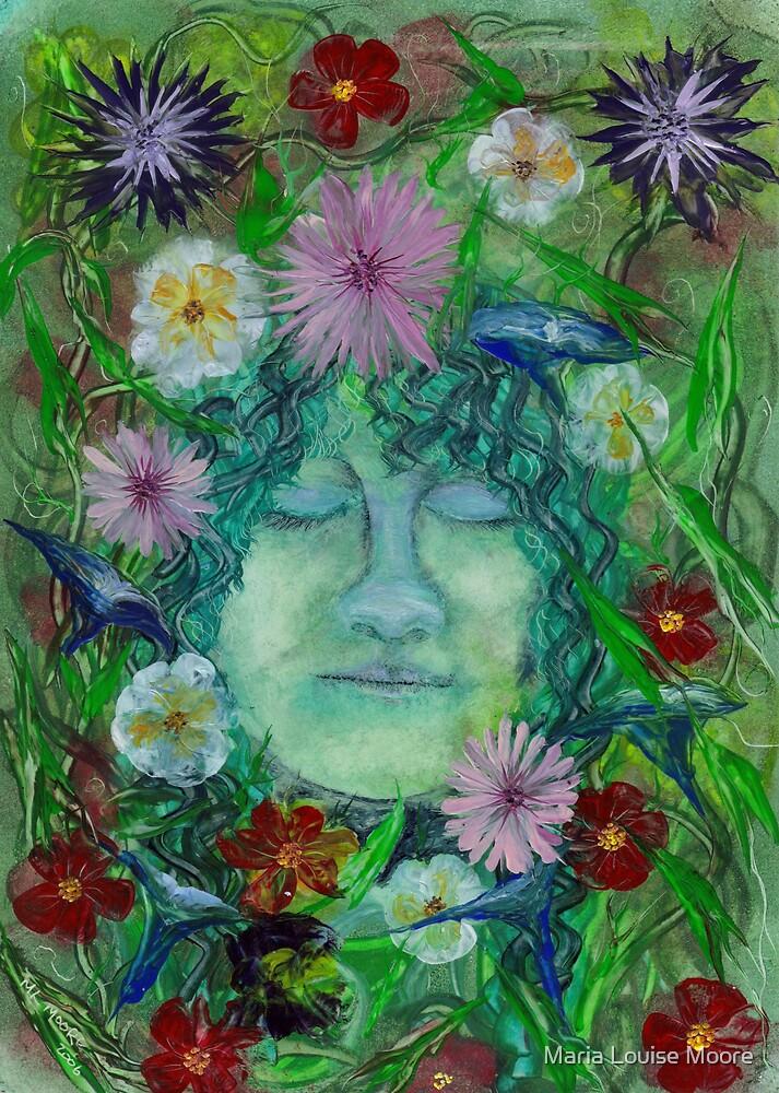Blodeuwedd - Flower Wife by Maria Louise Moore