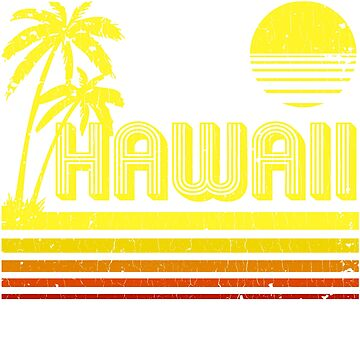 Vintage Hawaii (distressed look) by robotface