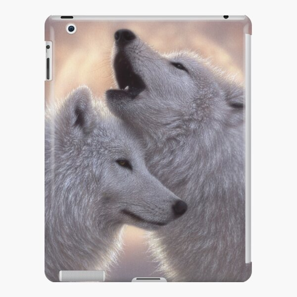 """Wolves Howling Moon """"Love Song"""" iPad Snap Case"""