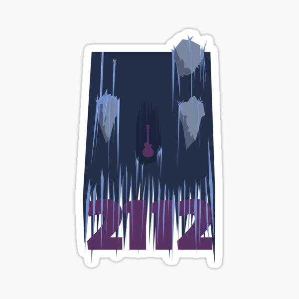 Rush - 2112 Waterfall Sticker