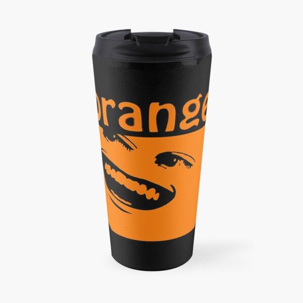 The Annoying Orange Travel Mug