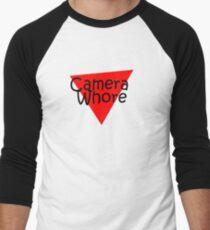 camera whore Men's Baseball ¾ T-Shirt