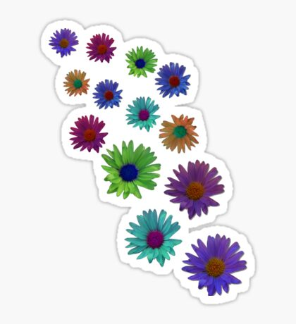 Flowers T Sticker