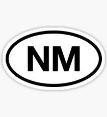 NM New Mexico | Beach Vacation Trip Sticker