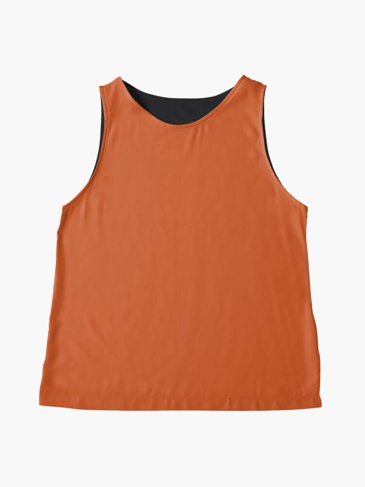 Alternative Ansicht von Gebrannte Orange Ärmelloses Top