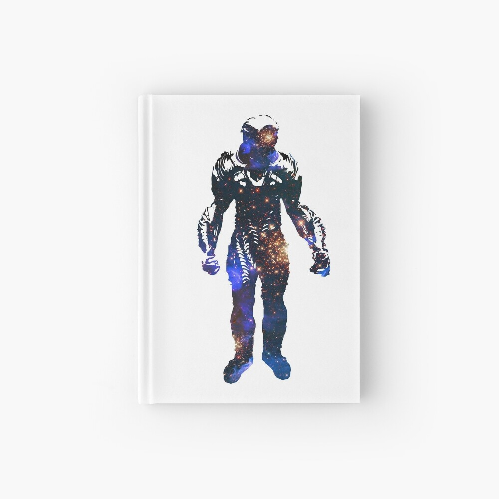 Lost In Space Robot Galaxy Silhouette Spiral Notebook By Jstuartart Redbubble