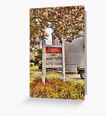 Hutto Farms Greeting Card