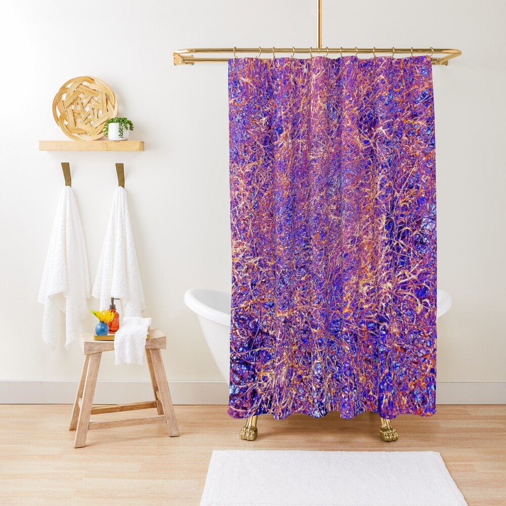Twigs #13 Shower Curtain