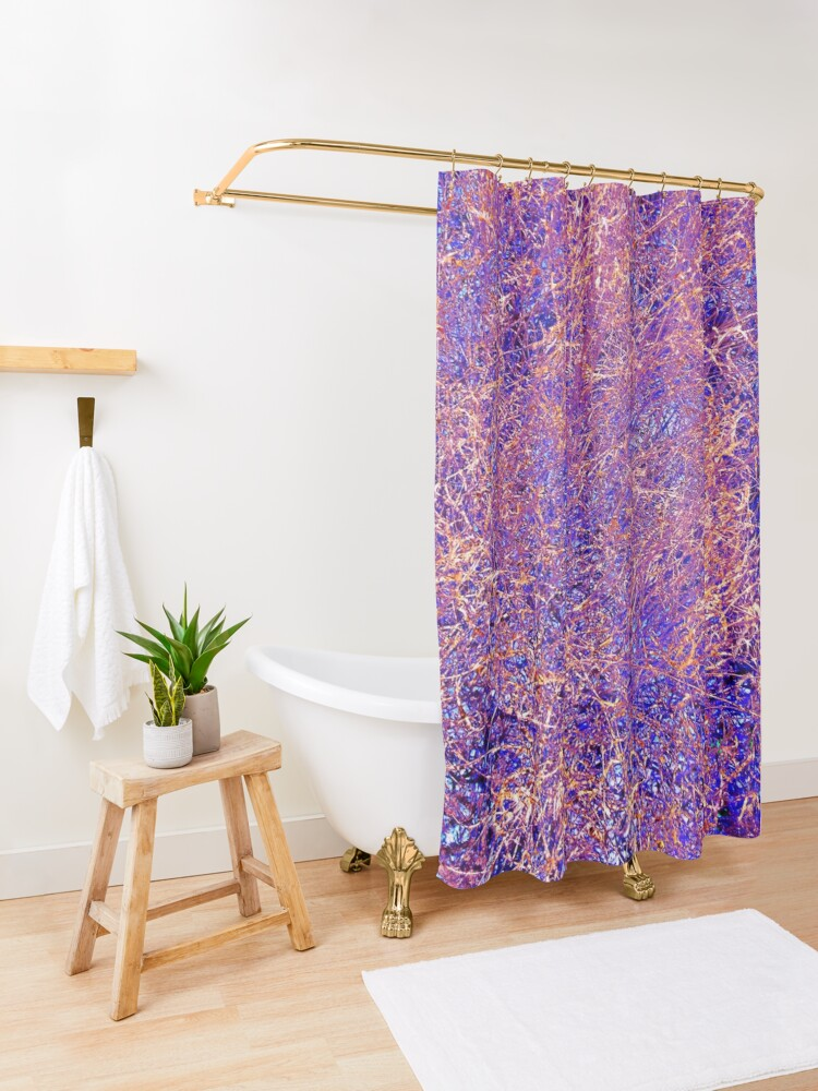 Alternate view of Twigs #13 Shower Curtain