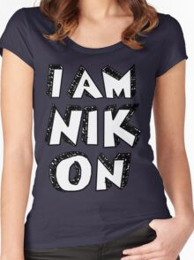I Am Nikon Women's Fitted Scoop T-Shirt