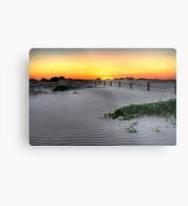 Dusk over Birubi Beach Sand Dunes Metal Print