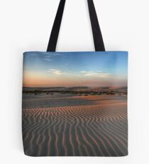 Sunset at Birubi Beach Sand Dunes 1 Tote Bag