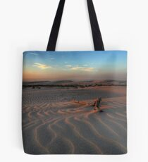 Sunset at Birubi Beach Sand Dunes 3 Tote Bag