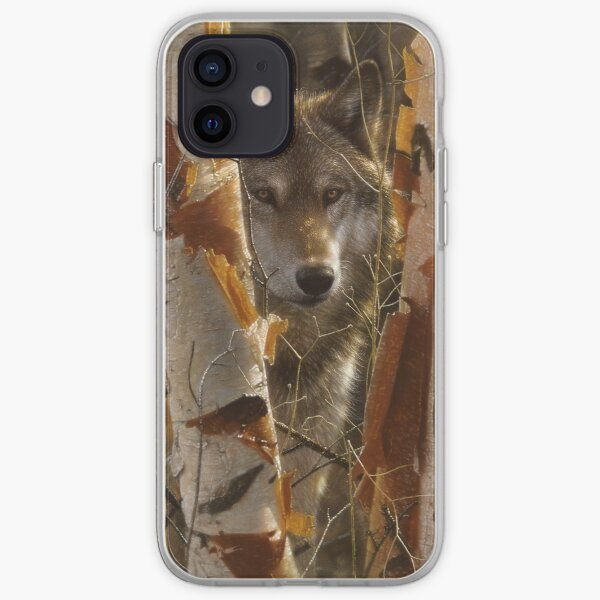 """Wolf """"The Guardian"""" iPhone Soft Case"""