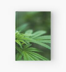 Cannabis Hardcover Journal
