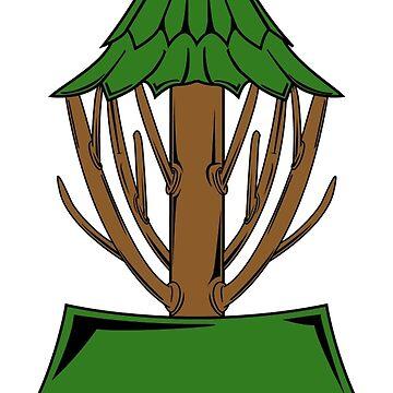 Tree Basket by delcarlodesign