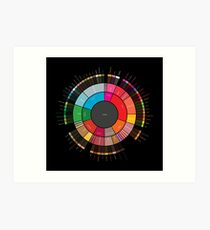 "Coffee ""Flavor.Wheel"" by Jared S Tarbell - Adapted for Redbubble Rupert Russell Art Print"