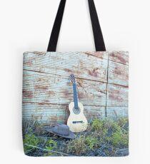 """""""My Guitar & Hat...... Tote Bag"""