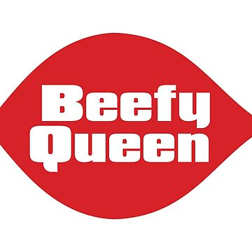 Beefy Queen midwest parody logo by erbeining